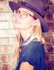 Jessica Hart glasses