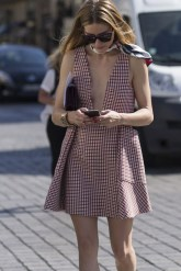 Couture fashion show Paris outfits Olivia Palermo