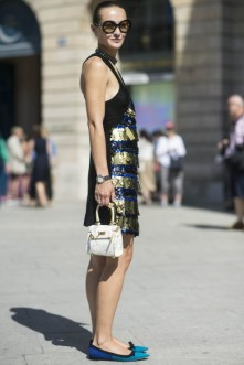 Couture fashion show Paris outfits street style