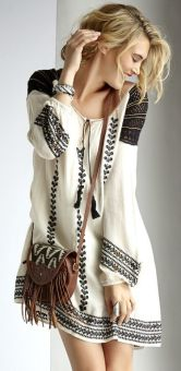 everydayfacts boho chic dress
