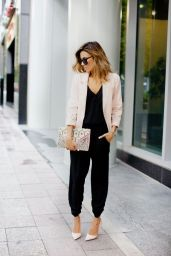 everydayfacts Black jumpsuit fall