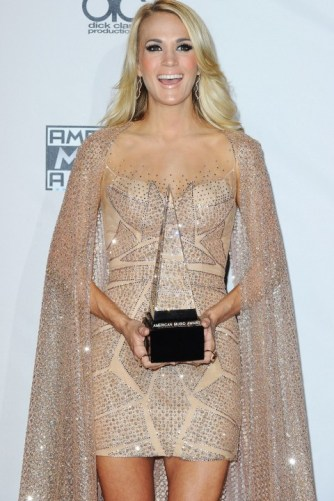American Music Awards 2015 Carrie Underwood