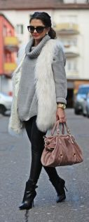 everydayfacts faux fur vest