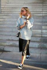 chunky sweater skirt 1
