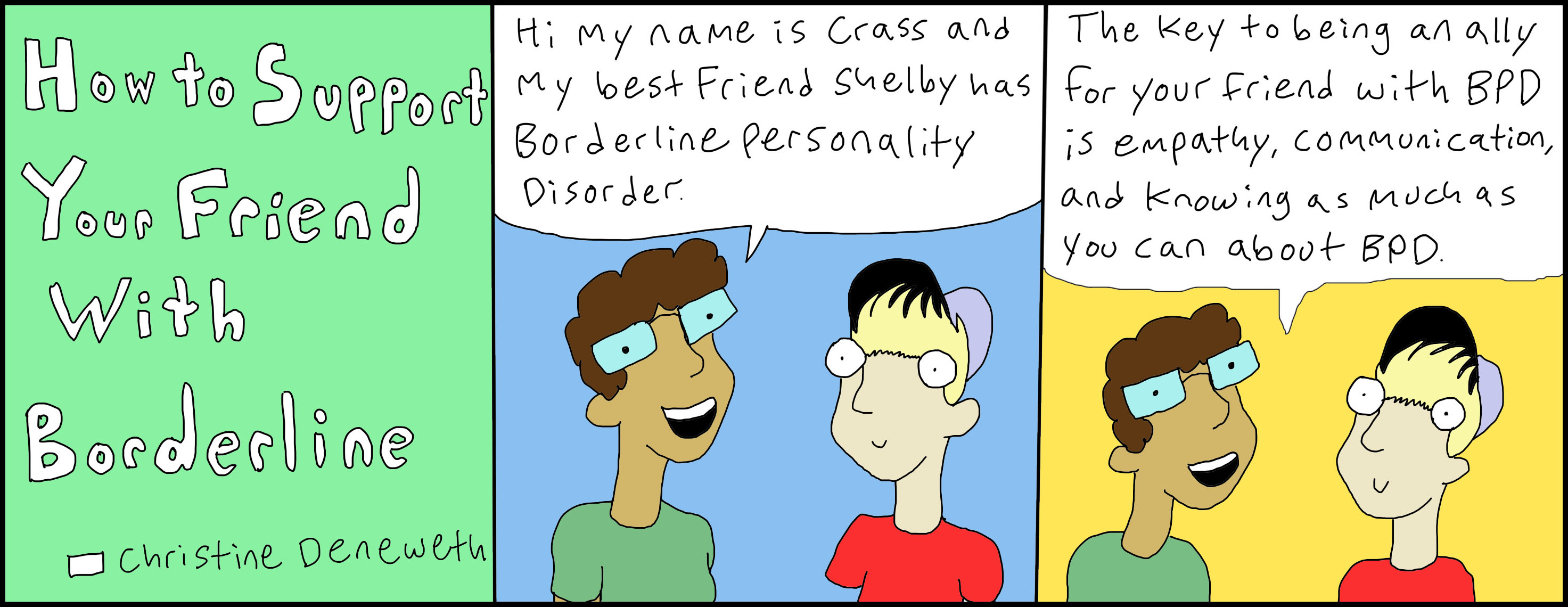 How To Support A Friend With Borderline Personality