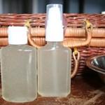 DIY Homemade Sanitizer in Travel Options