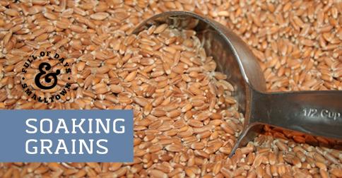 Why Soak Grain?