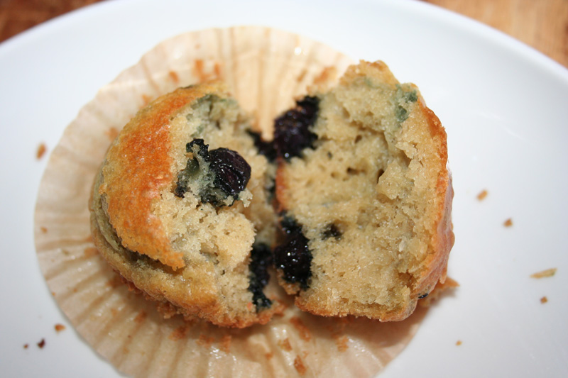 Blueberry Muffins - Sourdough