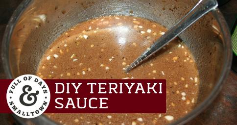 DIY Teriyaki Sauce