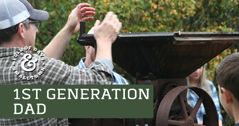 1st Generation Dad – A Favorite Day