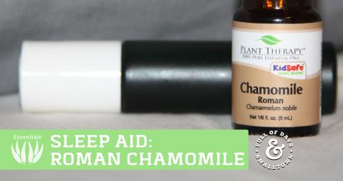 Get Sleep with Roman Chamomile