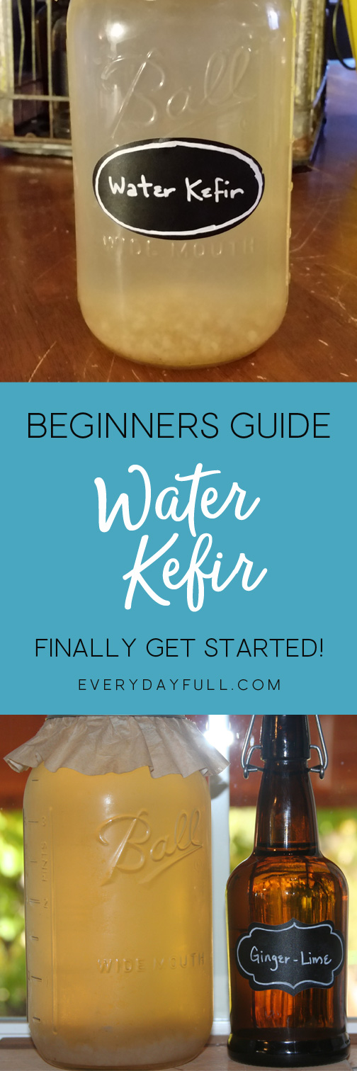 Water Kefir Pinterest Pin