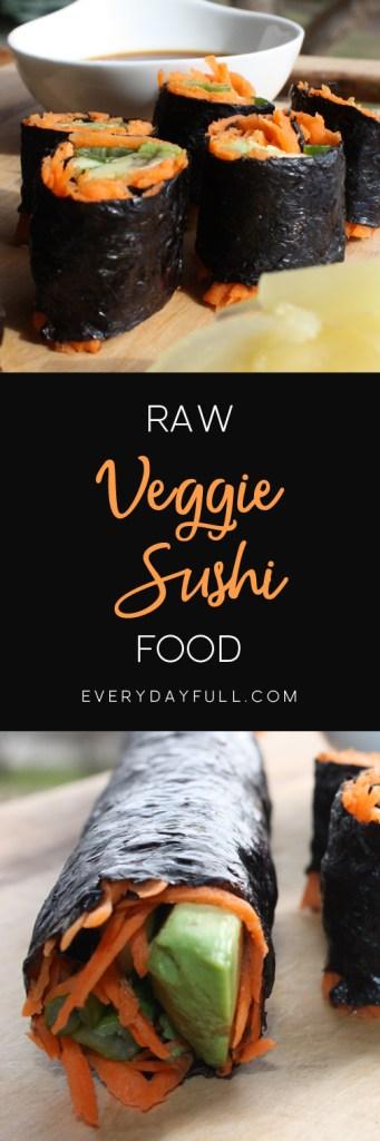 Veggie Sushi Pinterest Pin