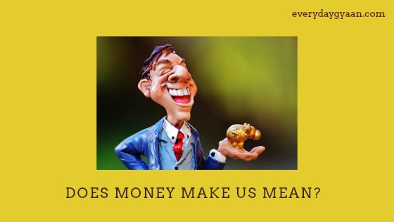 Is This What Money Does #MondayMusings