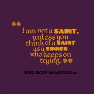 i am not a saint