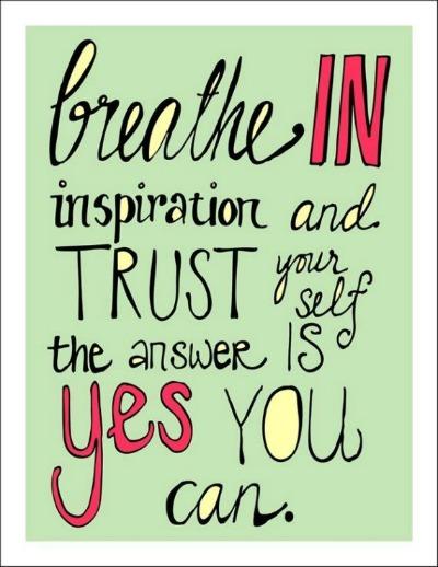 Inspiration When You Feel Stuck