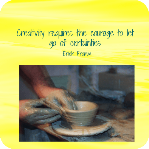creativity requires the courage to let go