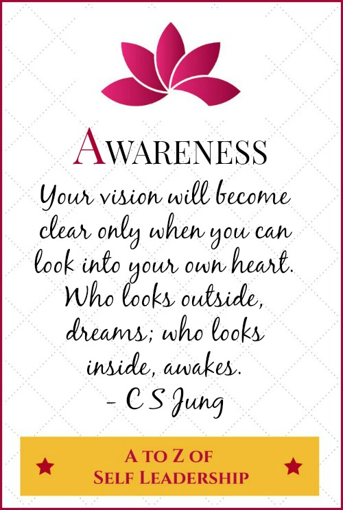 Awareness – A to Z of Self Leadership
