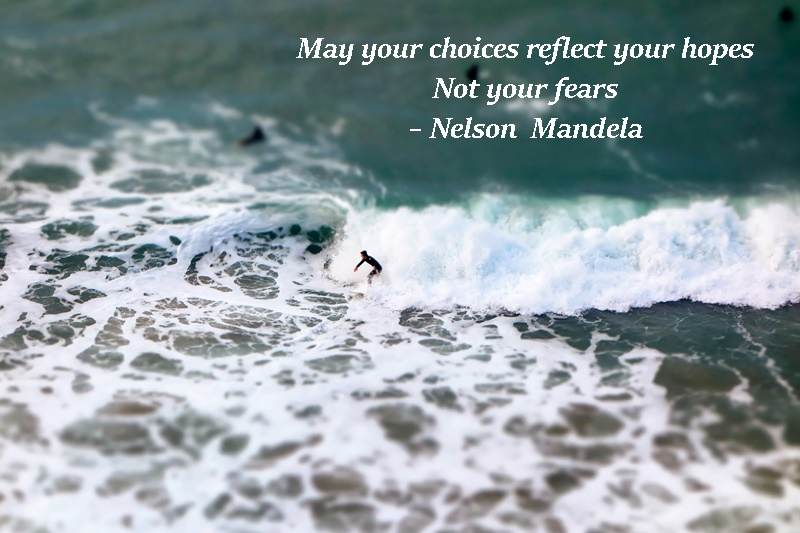 Let Our Choices Reflect Our Hopes #septemberchallenge
