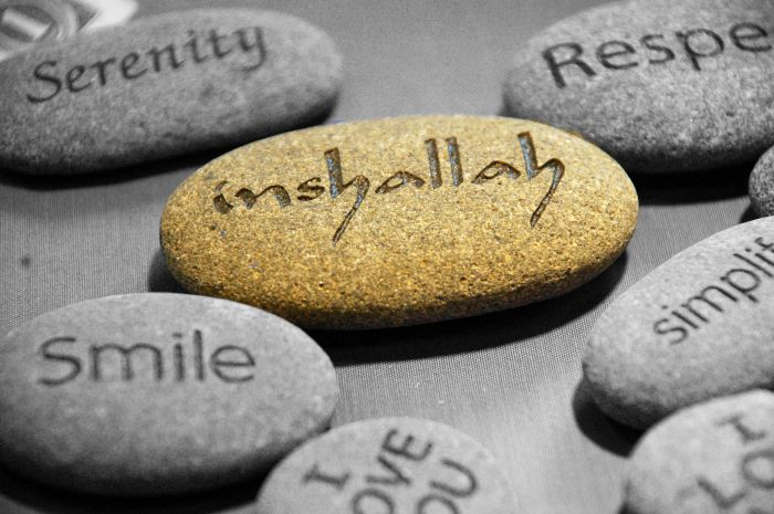 Insha'Allah  #MondayMusings