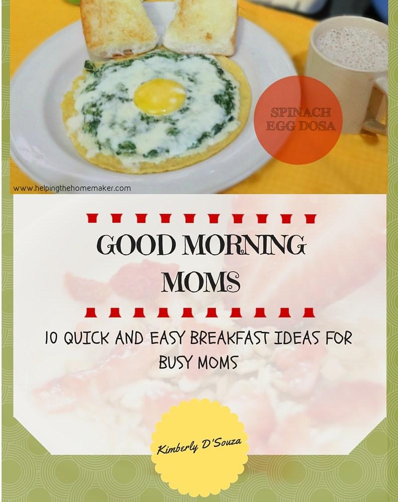 Breakfast Ideas For Busy Moms