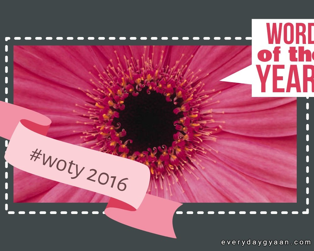 Your Word For 2016 #MondayMusings #woty