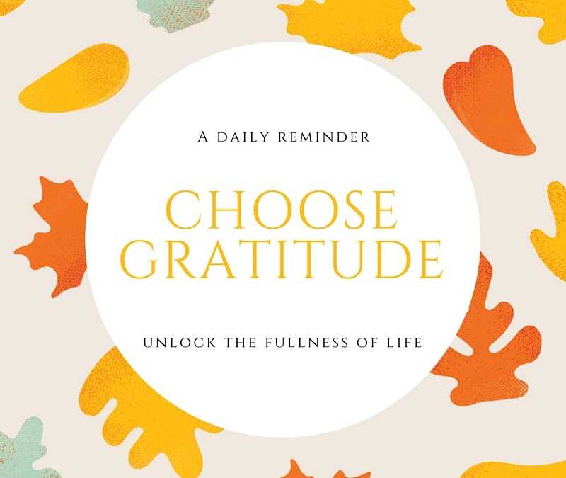Choose Gratitude #everydaygratitude