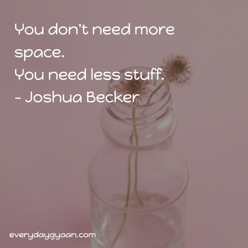 You Don't Need More Space  #MondayMusings