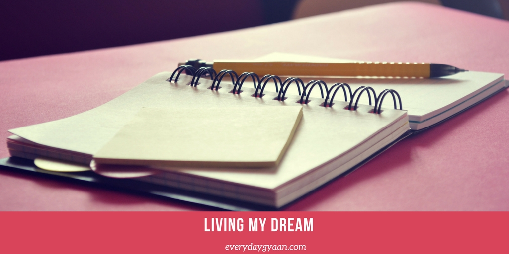Living My Dream #FridayReflections