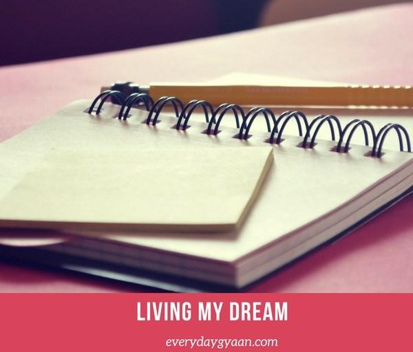 Living My Dream #FridayReflections