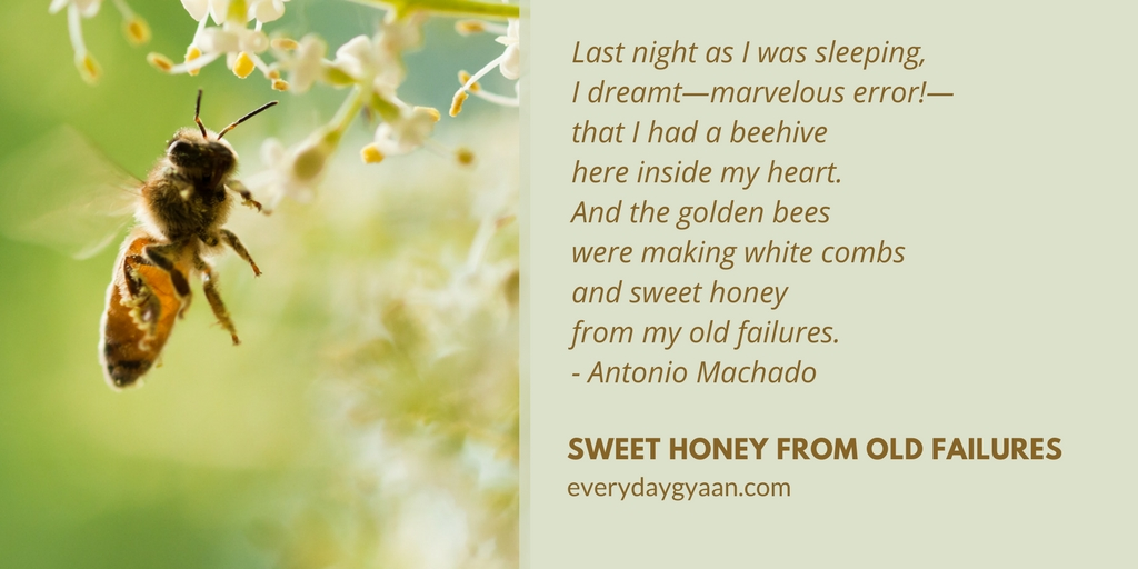 Sweet Honey From Old Failures