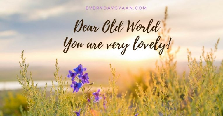 Dear Old World