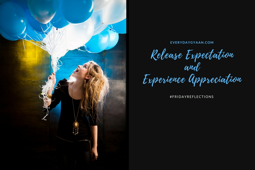 RELEASE EXPECTATION AND EXPERIENCE APPRECIATION