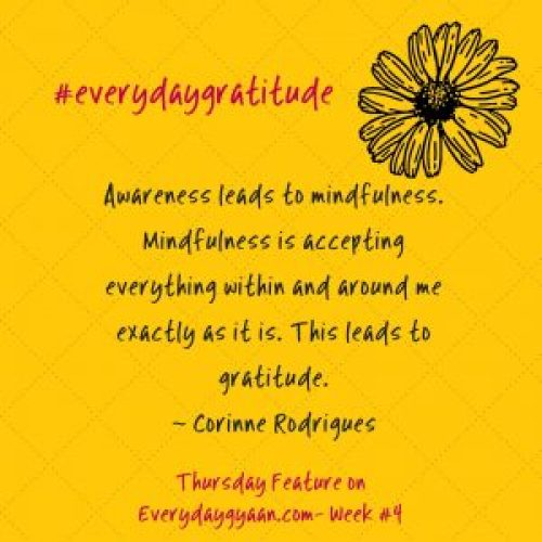 #everydaygratitude week 4