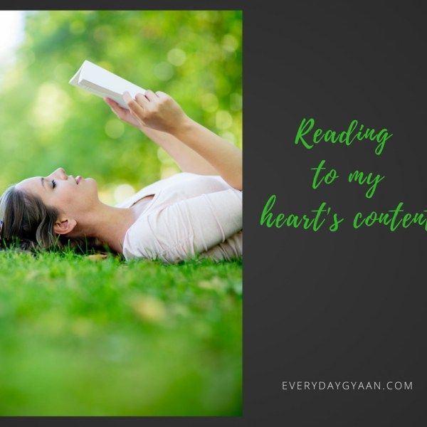 Reading To My Heart's Content #FridayReflections