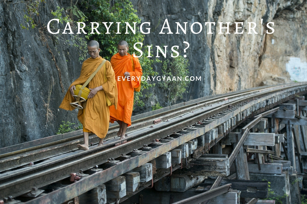 carrying another's sins