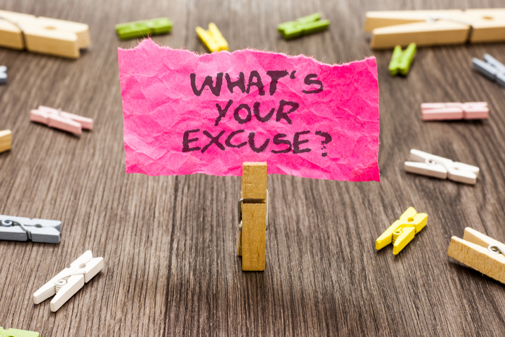 Making Excuses For Others #FridayReflections