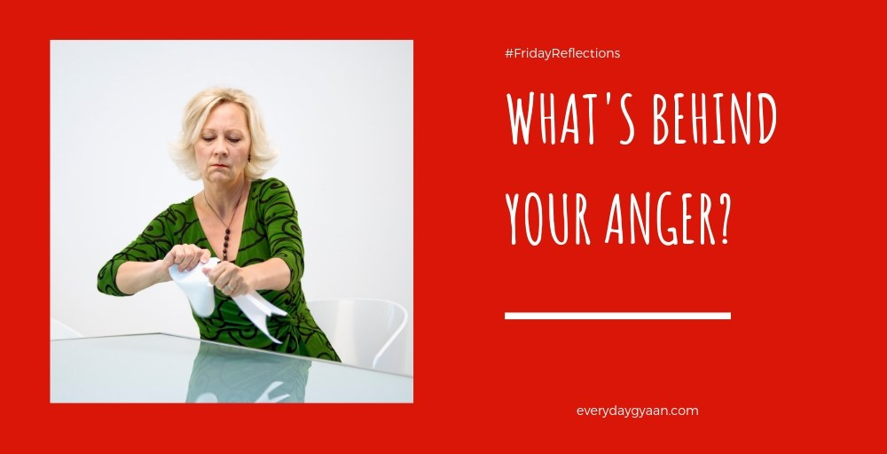 What's Behind Your Anger? #FridayReflections