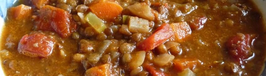 Lentil Soup w Roasted Garlic (c) jfhaugen