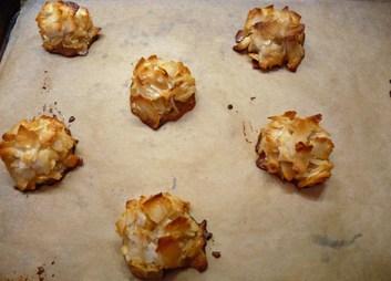 Coconut Macaroons Just Baked (c) jfhaugen