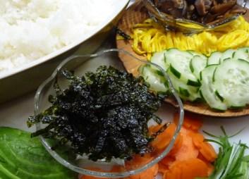 Chirashi Sushi Ingredients (c) jfhaugen