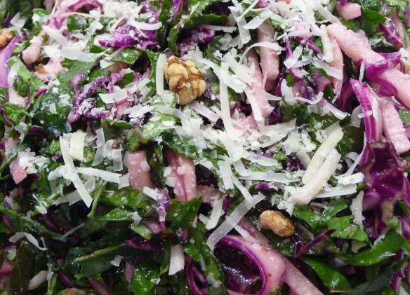 Kale, Cabbage & Jicama Slaw (c) jfhaugen
