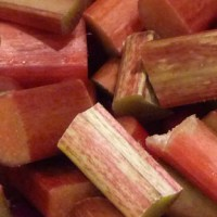 Rhubarb Apple Butter