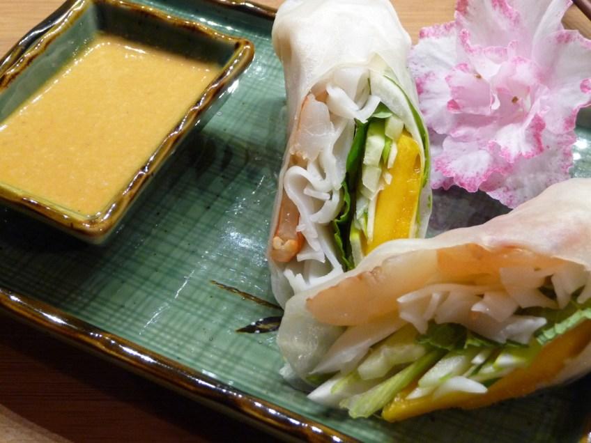Vietnamese Salad Rolls w/ Spicy Peanut Sauce (c) jfhaugen)