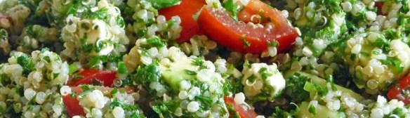 Tabouli w/ Quinoa, Avocado & Feta