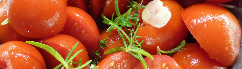 Slow-Roasted Tomatoes—Concentrated Essence of Summer