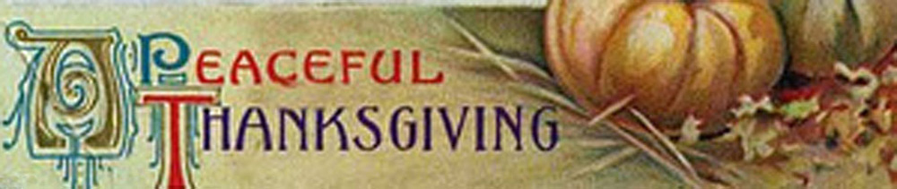 A Thanksgiving Quiz –The Thanksgiving Legacy
