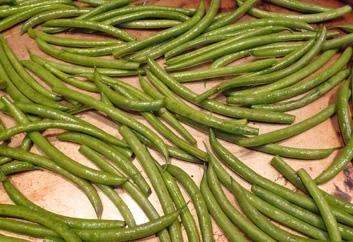 Wrinkled Green Beans –Gingery, Garlicky Good