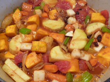 Winter Vegetable Tagine (Moroccan Winter Vegetable Stew)
