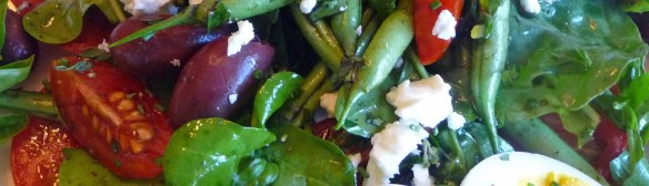 Green Bean Salad w/ Tomatoes & Herbs